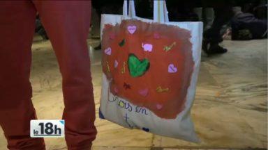 Sac' Adeaux : des sacs à destination des réfugiés offerts ce samedi soir au Parc Maximilien