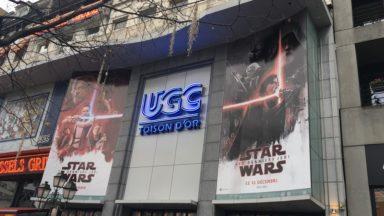 La folie Star Wars a frappé Bruxelles pour la sortie du 8e opus de la saga