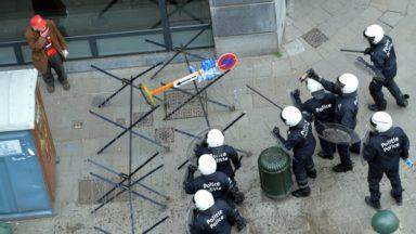 Émeutes à Bruxelles: un officier bientôt désigné pour gérer les renforts en cas d'échauffourées