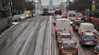 Neige : retour sur cette matinée de galère pour les bruxellois