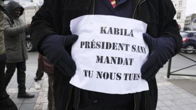Crise en RDC : 400 Congolais exigent à Bruxelles le départ du président Kabila