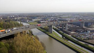 Un accident mortel sur le viaduc de Vilvorde