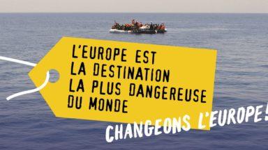 """""""Contre-sommet européen"""" ce mardi à Bruxelles avant une manifestation pour les migrants"""