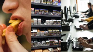 Malbouffe, tabac, stress,… 8 des 10 médicaments les plus remboursés sont liés à notre mode de vie
