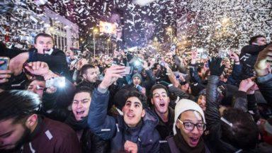 Le plateau du Heysel s'apprête à dévoiler ses festivités pour la nouvelle année