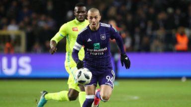 Hanni offre la victoire à Anderlecht face à La Gantoise au terme d'un petit match