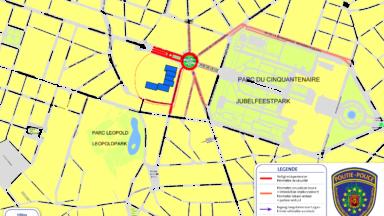 Sommet européen : le quartier Schuman fermé à la circulation jusqu'à vendredi