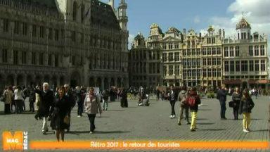 2017 : l'économie se redresse à Bruxelles grâce au retour des touristes
