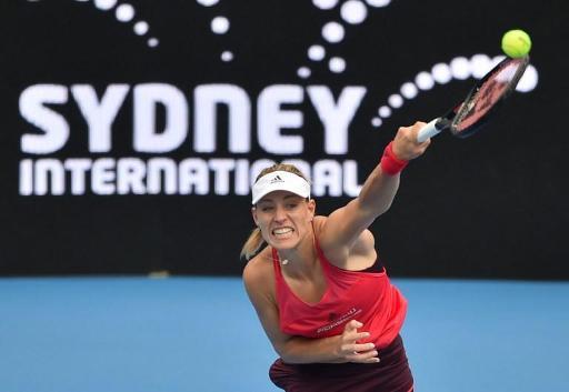 WTA Sydney - Angelique Kerber renoue avec la victoire