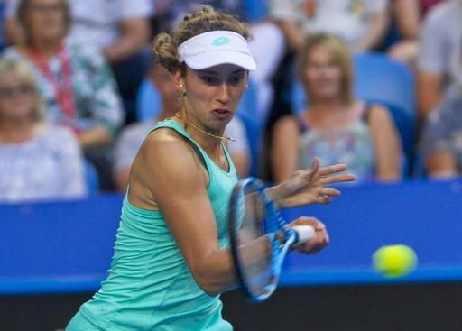 Elise Mertens en finaledu tournoi de Hobart affrontera Buzarnescu