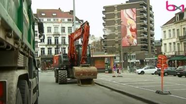 Les travaux de réaménagement de la place Jourdan ont commencé