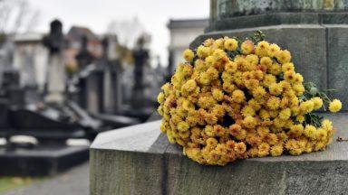 Les cimetières de la Villes de Bruxelles fermés ce dimanche à cause du vent