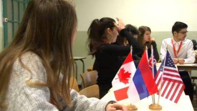Climate Challenge: des élèves de Woluwe-St-Lambert négocient le virage écologique