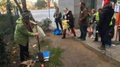 Saint-Josse : 1125 euros d'amende pour des écriteaux sur des arbustes, Ecolo s'offusque