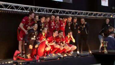 Euro de hockey indoor : les Belges déçus mais fiers de leur médaille d'argent