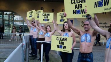 """Pollution de l'air : la Belgique, """"prochain pays à se faire taper sur les doigts"""" selon Greenpeace"""