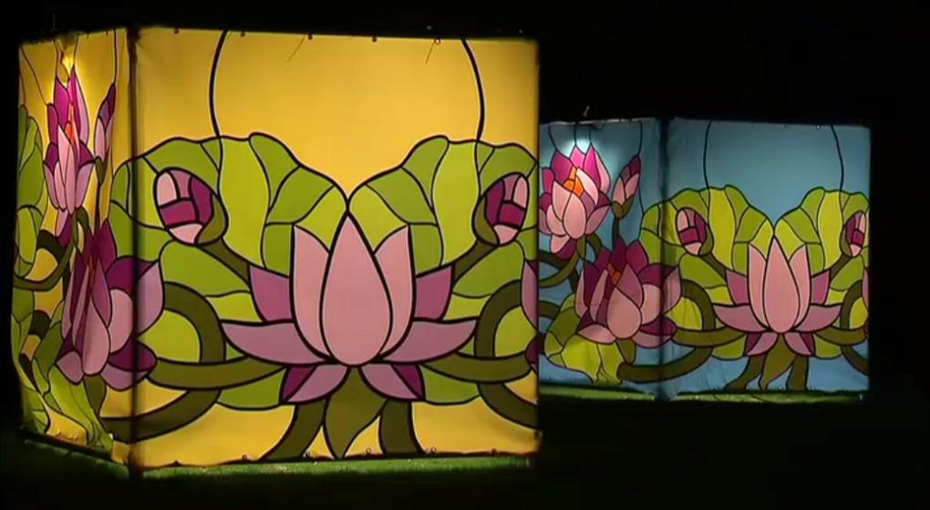 Le Jardin Botanique De Meise Presente Ses Illuminations Lors Du
