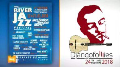 Djangofolllies, River Jazz Festival,… : un mois de janvier très jazzy à Bruxelles