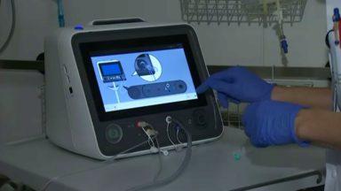 L'UZ Brussel utilise un appareil pour mieux nourrir les patients gravement malades