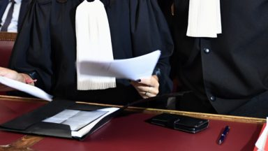 Le monde judiciaire s'est arrêté ce mercredi à 11h30