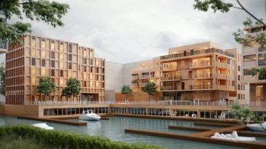 Marina du bassin Biestebroeck à Anderlecht : la commission de concertation reporte son avis