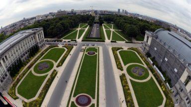Une cure de restauration pour le patrimoine classé du parc Cinquantenaire