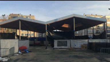 Woluwe-Saint-Pierre : les nouvelles installations de la place Dumon doivent déjà être démolies