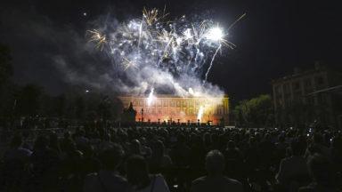 Le feu d'artifice du Nouvel An a attiré 45.000 spectateurs au pied de l'Atomium