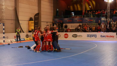 Euro indoor de hockey: les Red Panthers battent l'Angleterre et réintègrent le top 8 européen