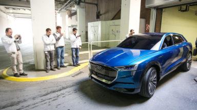 Audi Brussels commencera en août la production du nouveau SUV électrique