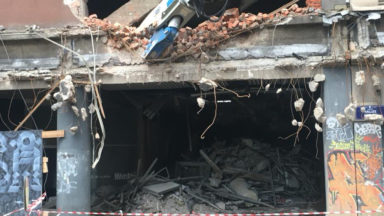 Bruxelles : la démolition du Parking 58 a commencé