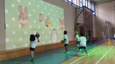 Etterbeek : l'école Paradis des Enfants se dote de la première salle de gym connectée d'Europe