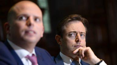 """Bart de Wever à propos du Parc Maximilien : """"ce n'est pas une coïncidence que cela se passe à Bruxelles"""""""