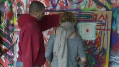Une initiation à l'art du graffiti avec l'artiste Djamel Oulkadi