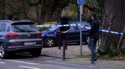 Une fillette et son père fauchés par une auto — Schaerbeek