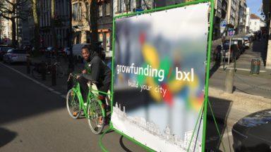 Velocom', des vélos sandwichs pour développer la publicité verte dans la capitale