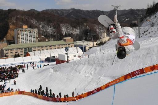 (LEAD) PyeongChang 2018-Snowboard : Chloe Kim décroche l'or en half-pipe