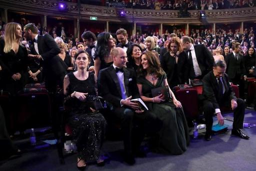 BAFTA 2018 : Kate Middleton fait sensation sur le tapis rouge