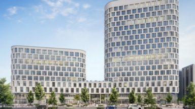 Quartier Nord : les anciens bureaux de l'administration flamande bientôt transformés… en quatre tours