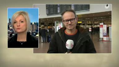 Neige: Brussels Airlines supprime sept vols au départ de Bruxelles