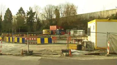 Le chantier d'un bassin d'orage s'éternise depuis 4 ans à Watermael-Boitsfort