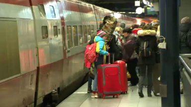Plus de 1 000 personnes ont pris les Thalys en direction des stations de ski