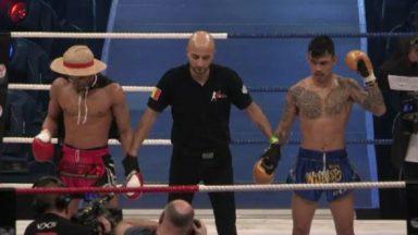 Les fans de boxe thaï avaient rendez-vous au Palais 12 samedi soir