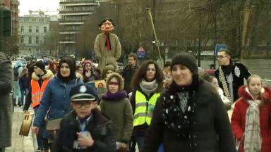 """Le carnaval du quartier Nord fête sa première édition et dit """"au revoir"""" à Mr Hiver"""