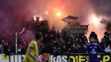 Le RSC Anderlecht condamné à 25.000 euros d'amende à cause de certains supporters