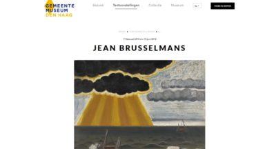 L'artiste bruxellois Jean Brusselmans mis à l'honneur à La Haye