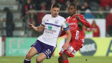 RSC Anderlecht : le parquet propose un match de suspension à Leander Dendoncker
