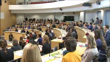 Début de la 22e édition du Parlement Jeunesse de la Fédération Wallonie-Bruxelles