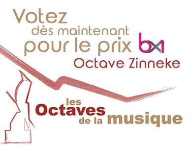 Votez pour l'Octave Zinneke 2018