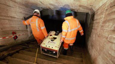 Un robot envoyé sous la gare du Nord pour mieux préparer le chantier de la ligne de métro 3